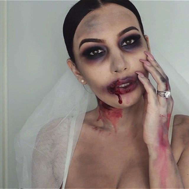 Макияж Мертвая Невеста