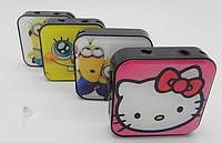 Mp3 плеер мультики 005, microSD, наушники, кабель USB, без памяти, без радио, плеер для детей