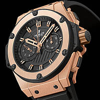 Часы Hublot King Power gold механические мужские