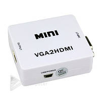 Конвертер VGA to HDMI mini