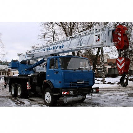Автокран «КЛИНЦЫ» КС-55713-1К-2 на базе КАМАЗ-65115, фото 2