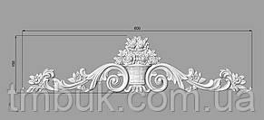 Горизонтальный декор 4 накладной - 600х150 мм, фото 2
