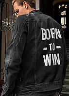 Куртка мужская джинс 2Y 3075 осень