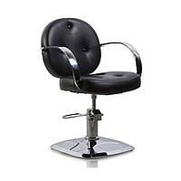 Парикмахерская мебель Tico Кресло парикмахерское на гидравлическом подъемнике Tico BM 68508 темно-коричневый
