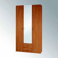 Шкаф-6 120мм, с зеркалом в спальню