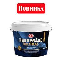 Гибридная краска на основе чистого акрила и водного алкида Herregard Maximal, 2,7л (база A)