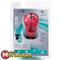 Мышь Logitech M235 Wireless Red