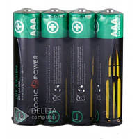 Батарейка LogicPower alkaline LR03 4шт, пальчиковая, 1.5В, (Цена за 60 шт.) батарейка для игрушек LogicPower alkaline LR03 4шт