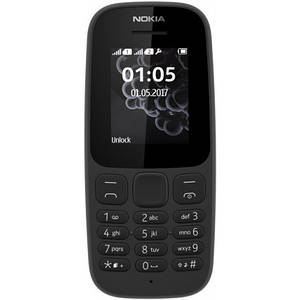 Nokia 105 DS 2017 Black UA-UCRF