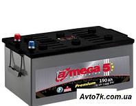 Грузовой Аккумулятор  A-MEGA Premium 190 Ah (Амега 190 Ампер) на Фуру Трактро Тягач