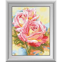 30580 Акварельные розы Набор алмазной живописи (квадратные, полная) Dream Art