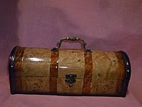 Шкатулка сундук деревянный лакированый длинный 31х11х11 сантиметров