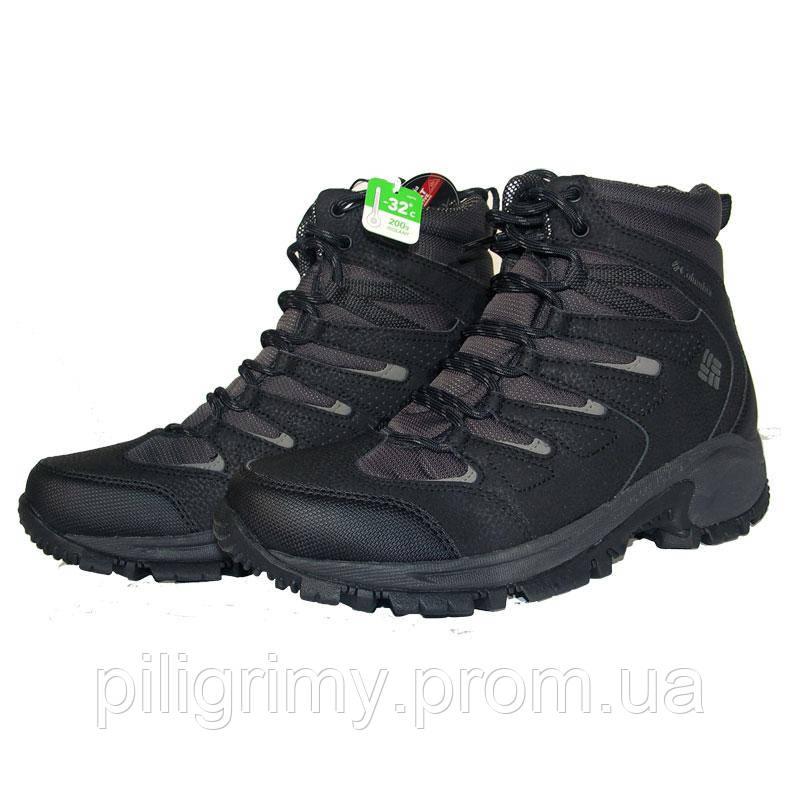 Мужские ботинки Коламбия GUNNISON™ OMNI-HEAT™ черные BM1770 011 -  интернет-магазин 891b83b1c7c