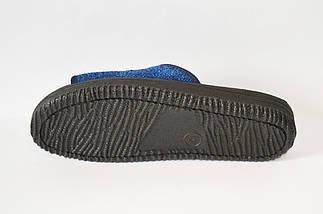 Синие мужские тапочки Inblu 28-1V , фото 2