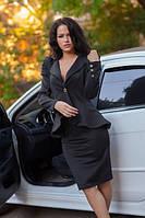 Женский стильный костюм с юбкой , фото 1