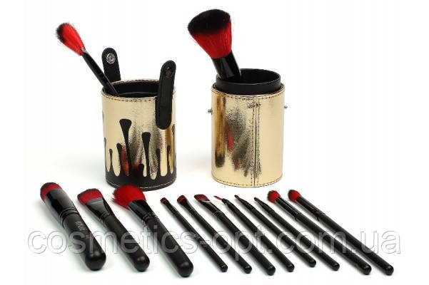 Кисти для макияжа Kylie в тубусе (12 предметов) (реплика)