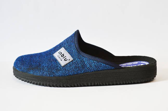 Синие мужские тапочки Inblu 28-3V, фото 2