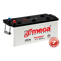 Грузовой аккумулятор 200 Ач a Mega ultra (Амега 200 Ампер) на Фуру Трактро Тягач