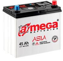 Автомобільний Акумулятор Amega 45 Ah (Asia) Амега 45 Ампер (Азія)
