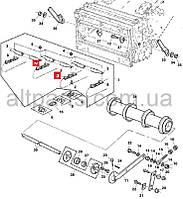 Цепь транспортера наклонной камеры средняя (Elite) John Deere, код запчасти AZ63337.P