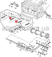 Цепь транспртера наклонной камеры (Titan) John Deere, код запчасти AZ63337.P