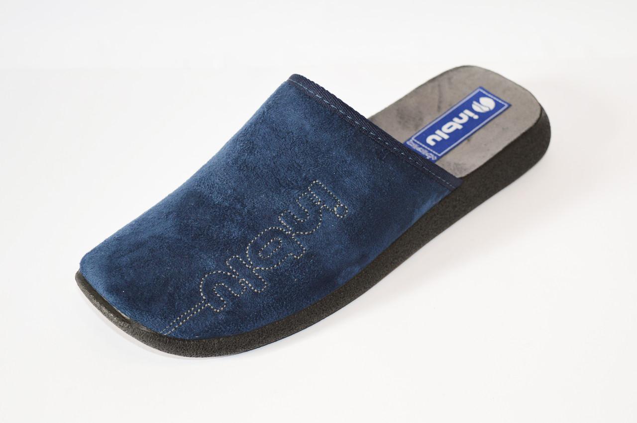 Мужские синие тапочки Inblu AC2V