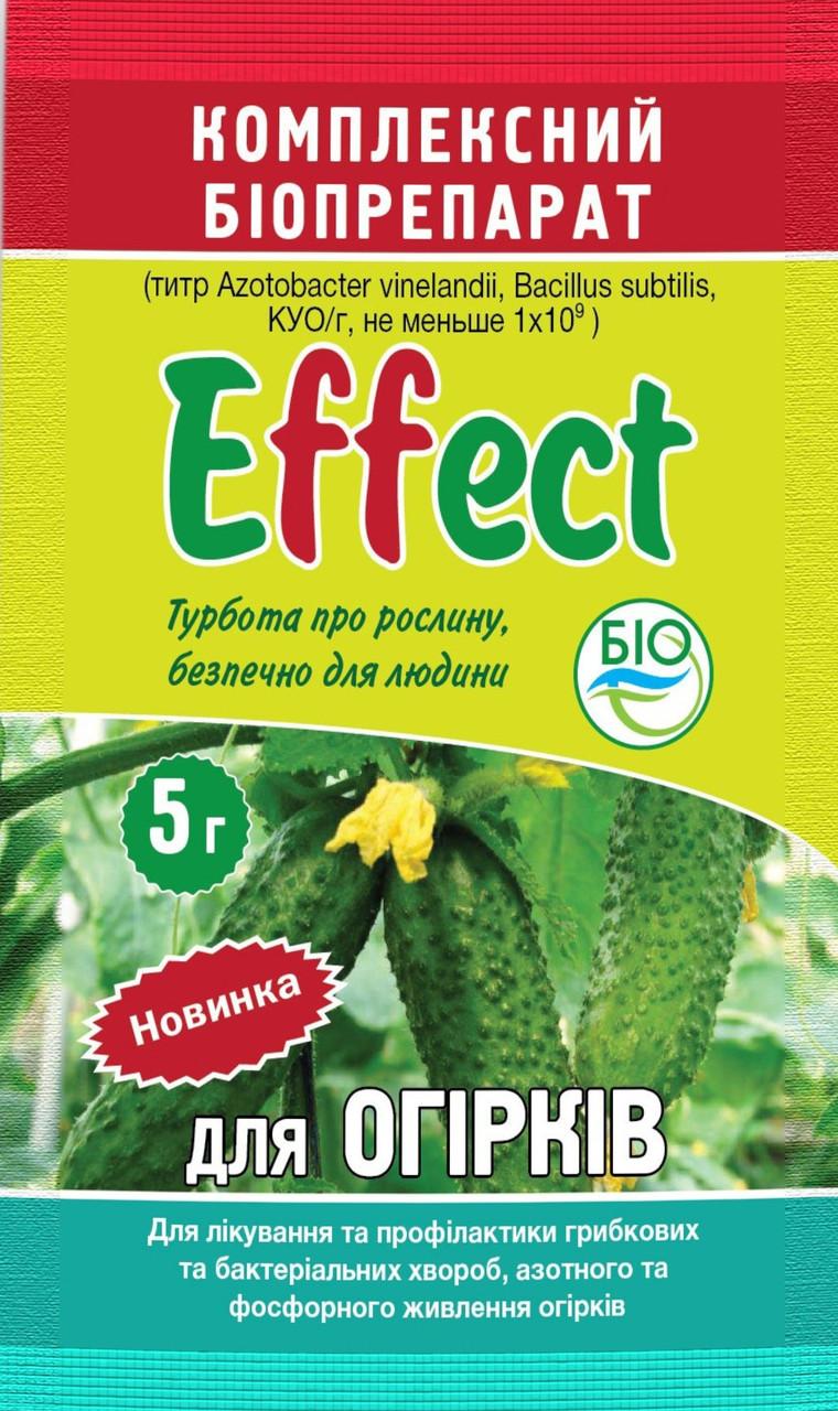 Биофунгицид Effect для огурцов 5 г (лучшая цена оптом и в розницу)