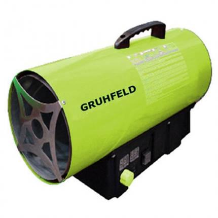Газовая пушка Grunfeld GFAH-30 (тепловая мощность 30кВт, 220В, сжиженный пропан-бутан), фото 2