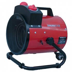 Тепловая пушка электрическая Sakuma SGP1505-03 (тепловая мощность 1,5/3кВт, 220В)