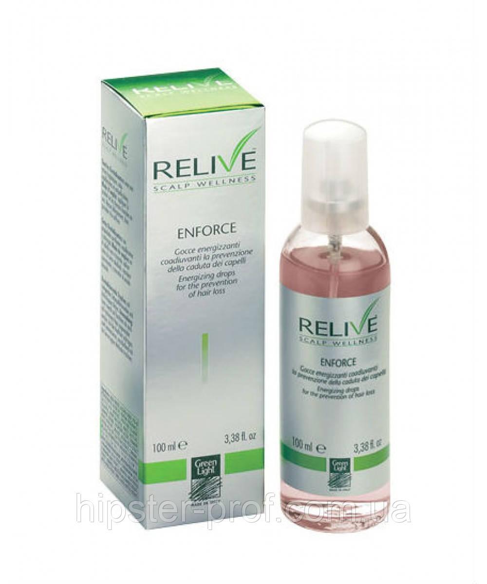 Капли против выпадения волос Green Light Relive Restitutive And Energy Gel Lotion Restores 100 ml