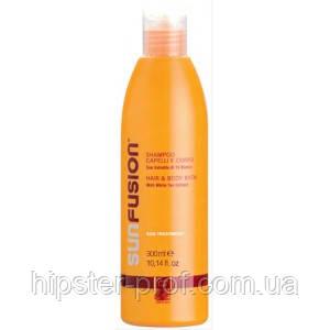 Шампунь сонцезахисний для тіла та волосся Green Light Sun Fusion Hair & Body Bath 300 ml