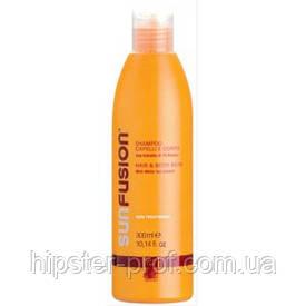 Шампунь солнцезащитный для волос и тела Green Light Sun Fusion Hair & Body Bath 300 ml