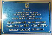 Фасадная вывеска с объемными буквами 600х400
