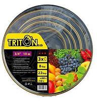 """Шланг садовый TRITON ШС-3410 3/4"""" х 10м"""