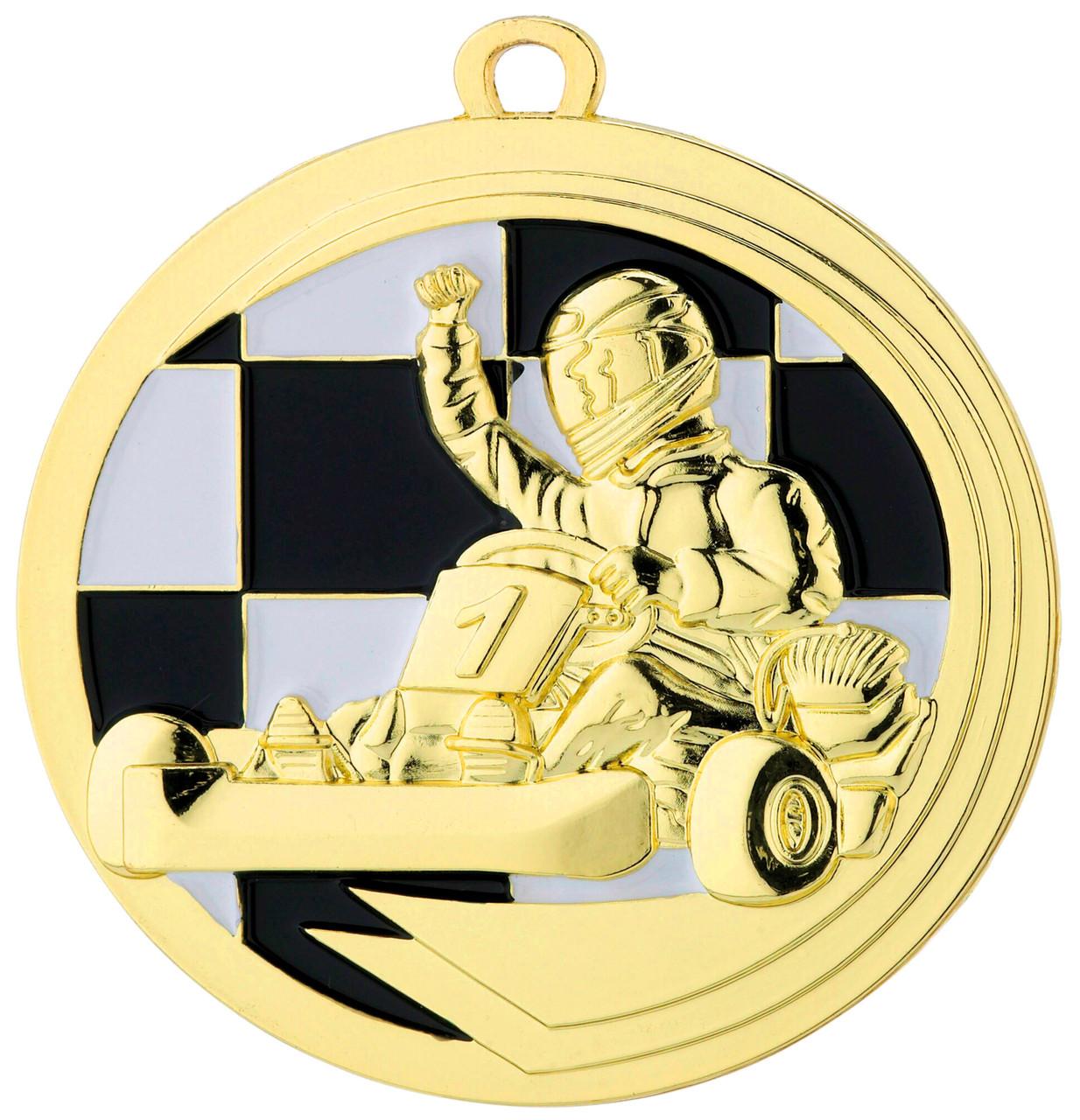 Медаль наградная Картингист 50мм. D39