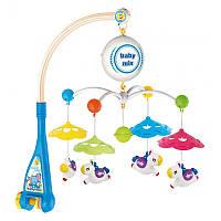 Музыкальный мобиль Baby Mix HS-1663M Лошадки