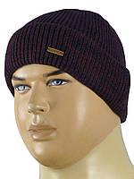 В'язана чоловіча шапка Gunner 0135 різних кольорів
