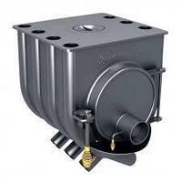 Отопительная печь Булерьян (увеличенный) 8 кВт - варочная для дома 140 м.куб.
