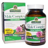Nature's Answer, Male Complex, 600 mg, 90 Veggie Caps