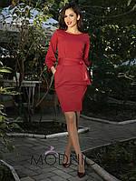Платье (42-44, 46-48) —трикотаж купить оптом и в розницу в одессе  7км