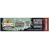 My Magic Mud, Activated Charcoal, Fluoride-Free, Whitening Toothpaste, Cinnamon Clove  , 4 oz (113 g)