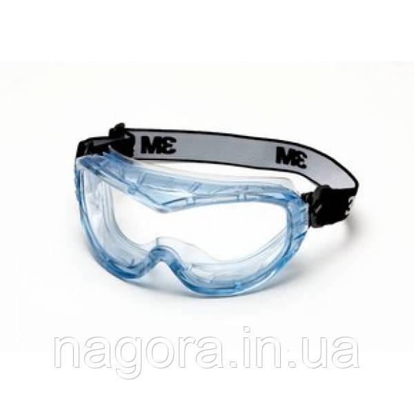 3M Fahrenheit 71360-00015M Окуляри захисні закритого типу,ацетатні з покриттям AS / AF / UV, CLEAR