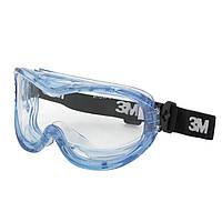 3M 71360-00013M Очки закрытые Fahrenheit, покрытие от запотевания  W / T-N-WEAR AS / AF / UV,  прозрачные
