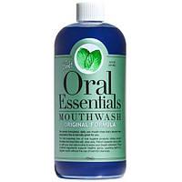 Oral Essentials, Ополаскиватель для рта, Оригинальная формула с цинком, 16 унции (473 мл)