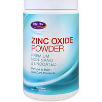 Life Flo Health, Порошок оксида цинка, премиальный продукт без нано-частиц и покрытия, 16 унций (454 г)