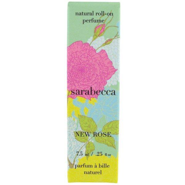 Sarabecca, Натуральные роликовые духи, Молодая роза, ,25 унц. (7,5 мл)