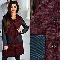 Пальто женские оптом купить в Одессе 7 км - на подкладке (44-50, норма)