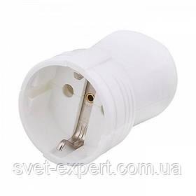 Гнездо штепсельное VI-KO с з/к Белый 16А