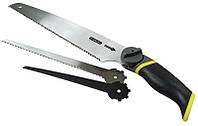 Ножовка универсальная с 3-мя сменными полотнами 3 в 1  STANLEY 0-20-092