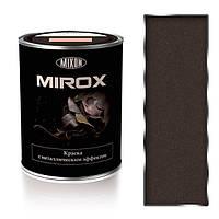 Краска с металлическим эффектом 3 в 1. Mirox-8016. 0,75 л